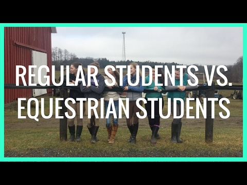 SPOT 2017- Regular Students vs. Equestrian Students
