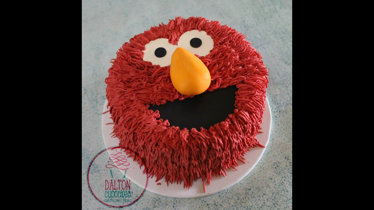 Elmo Cake YouTube
