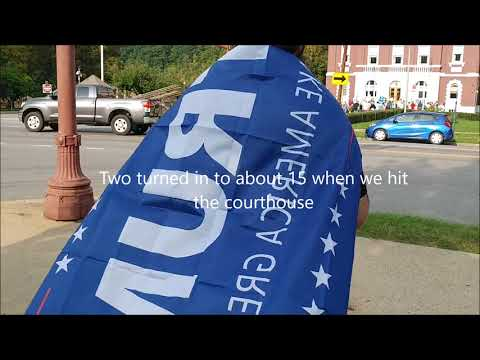 Oil Region Rising Anti-Trump March.  Franklin Pennsylvania.