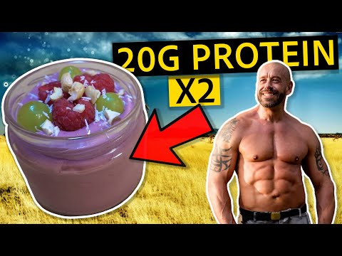 High Protein Raspberry & Cashew Mousse | Vegan Recipe