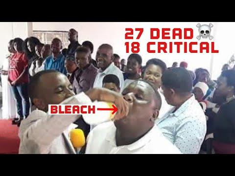Church Congregation Drink Bleach | Eat Grass | Pastor Washes Feet On Heads