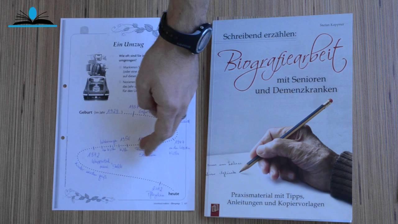 Biografisches Schreiben mit Erzählblättern - YouTube