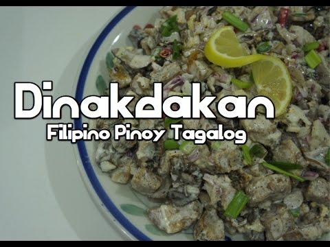 Paano magluto Dinakdakan - Filipino Pinoy Tagalog