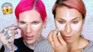 ♦ #Challenge - Odtwarzam makijaż Jeffree Star 😱 ♦ Agnieszka Grzelak Beauty
