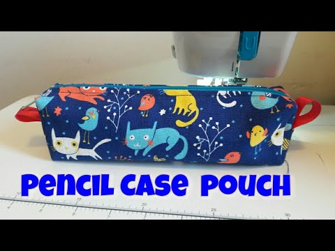 How to make a pencil case without a sewing machine