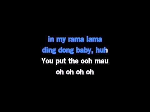 karaoke Otis Day And The Knights Shama Lama Ding Dong 113759