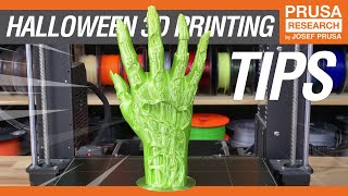 Halloween 3D Printing Tips!