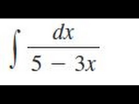how to find the indefinite integral of a fraction