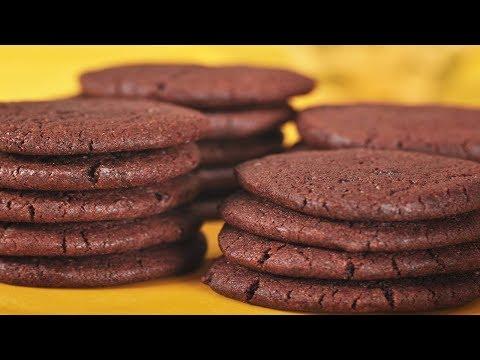 Chocolate Wafers Recipe Demonstration - Joyofbaking.com