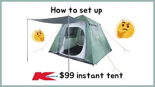 k마트 텐트치는법 how to fold up kmart…