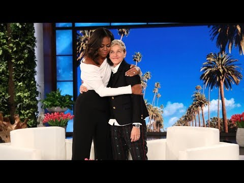 Ellen Asks Michelle Obama How Frustrated Americans Can Cope in the Current Political Climate