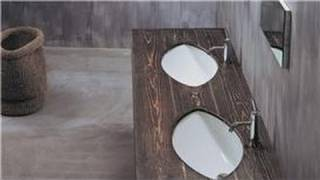 Interior Design: Bathrooms : Wood Contemporary Bathroom Vanities