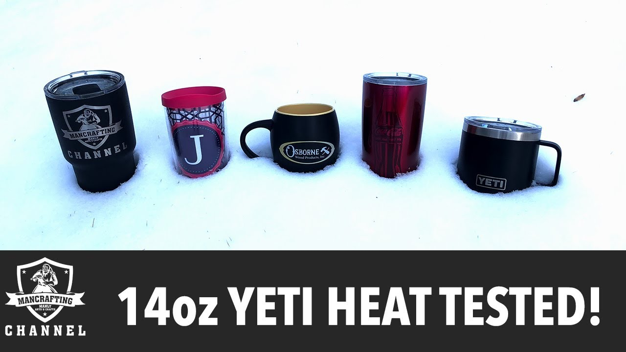 5a7aa3e2d2d 14oz YETI TESTED! | Compared with 4 other cups. - YouTube