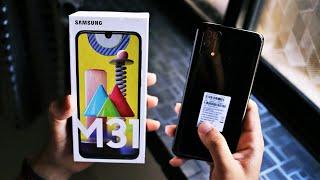 Samsung Galaxy M31 6GB+128 GB | 64MP Quad Camera | 6000mAh | Unboxing & Quick Look!