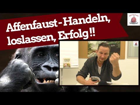 Die Affenfaust - Handeln, loslassen, Erfolg !!