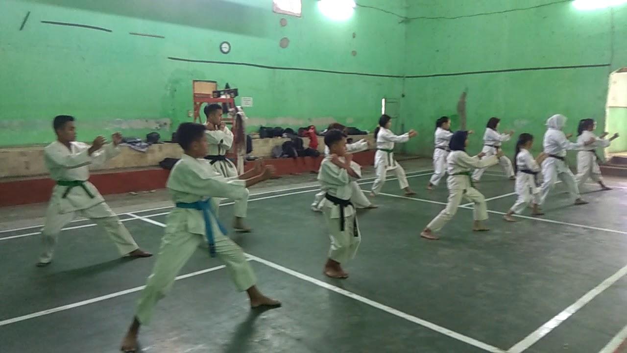 NGERI... Anak Karate BATOSAI ACADEMY memainkan KATA GOJUSHIHO SHO, lihat pas adengan ...