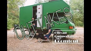 [[ OUTTAKES ]] ROOMTOUR 4x4 Offroad Campervan MR PINK