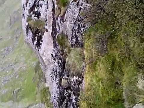 PRIEST HOLE CAVE DOVE CRAG - YouTube