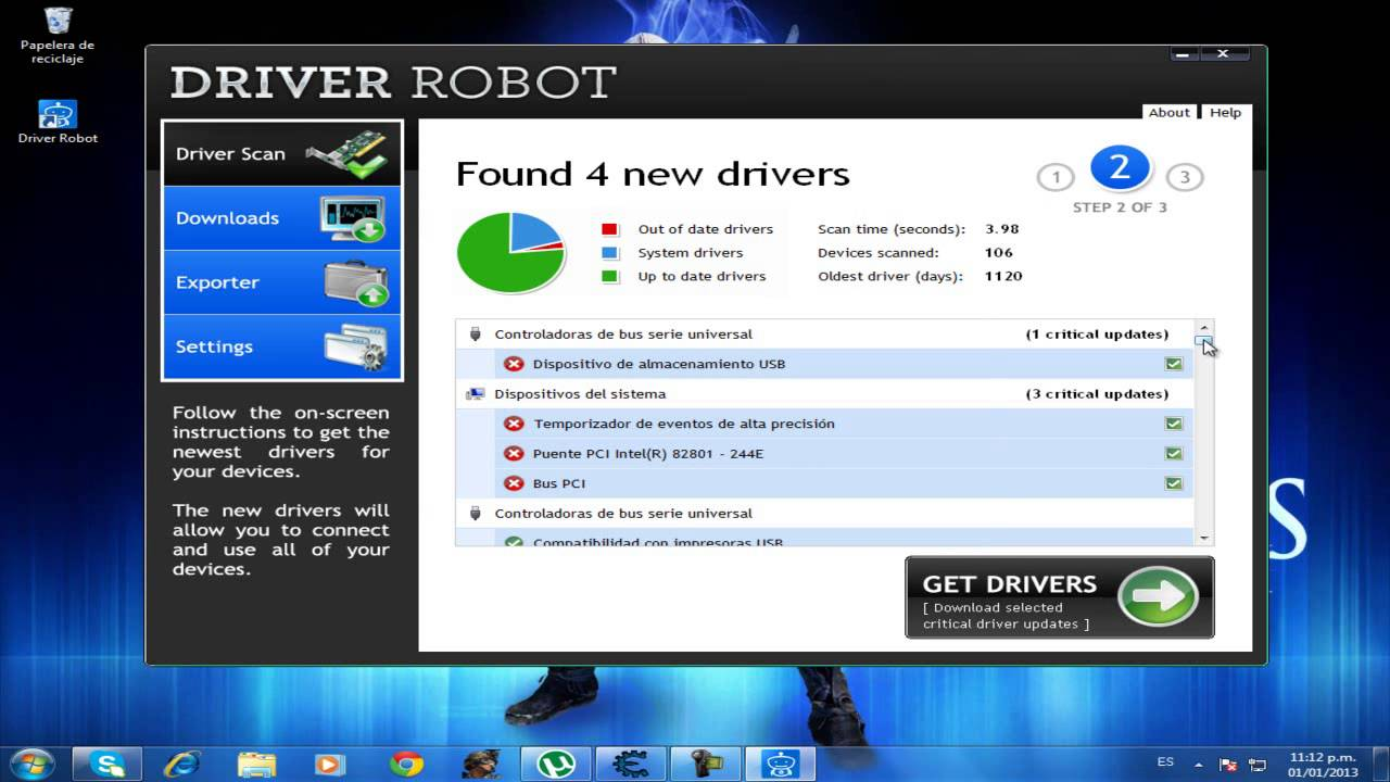 driver robot serial 2018