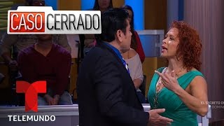 My Father Is Secretly Dating My Wife 👱‍♀️🧓👩 | Caso Cerrado | Telemundo English
