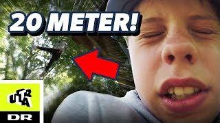 Ditlev har højdeskræk: Skal klatre 20 meter over jorden! | Ultra Ægte