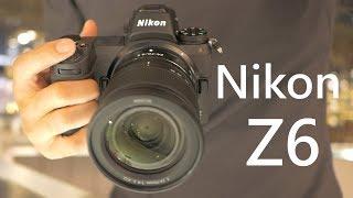 《全幅微單》Nikon Z6│A7 III 出現對手?【相機王】