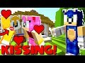 Minecraft Sonic The Hedgehog - Sonic Caught Tails Kissing Amy! [14]