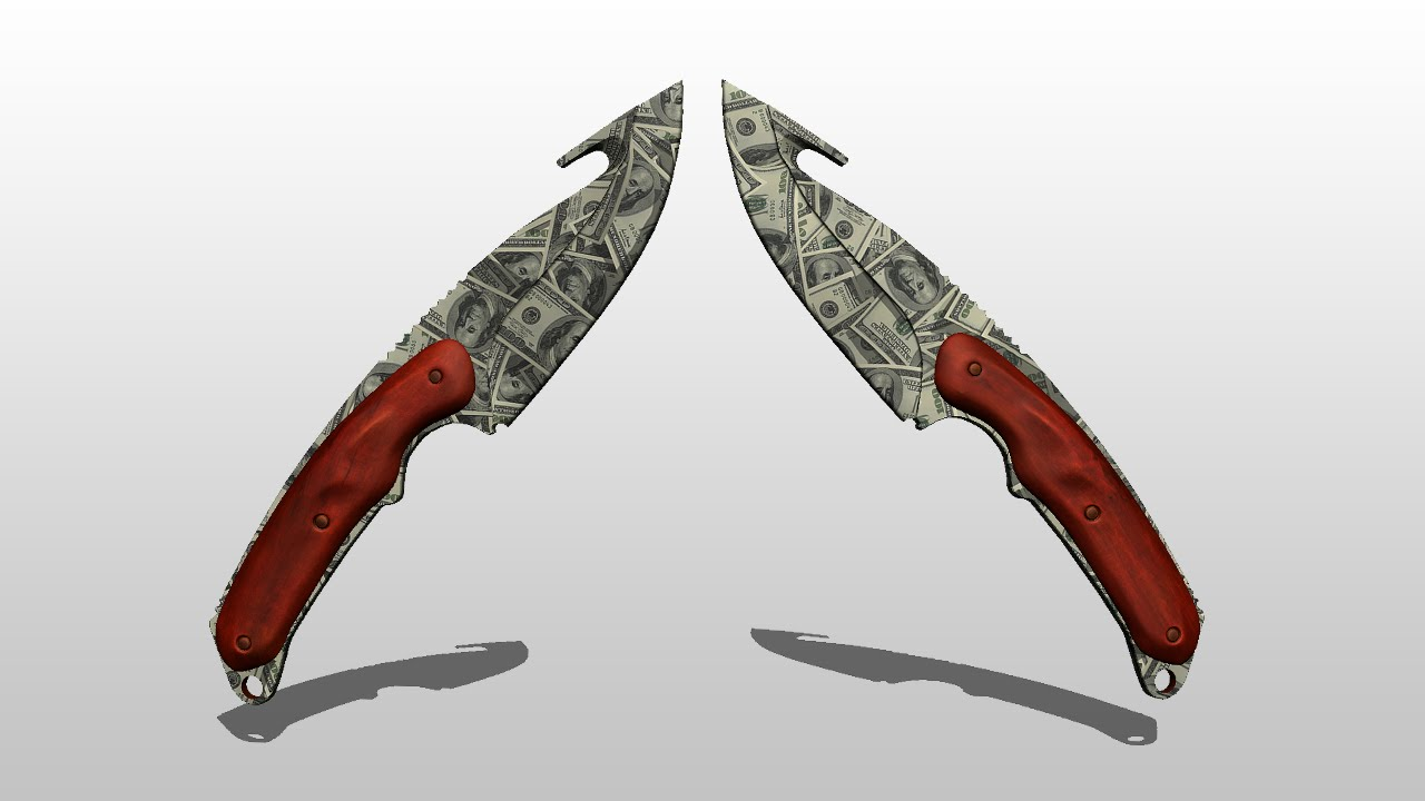 how to make your own cs go knife skin