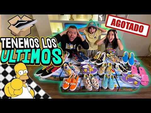 UNBOXING TODOS LOS VANS DE LOS SIMPSONS from YouTube · Duration:  21 minutes 8 seconds