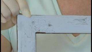 Making Picture Frames Look Old : Options When Aging A Picture Frame