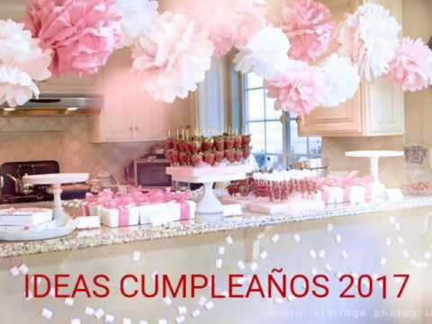 Decoraci n cumplea os ideas 2017 youtube for Decoracion cumpleanos nina 2 anos