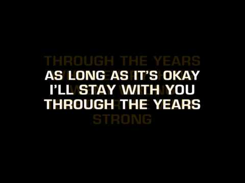 Kenny Rogers - Through The Years (Karaoke)