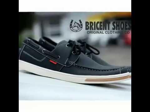 Jual Sepatu Casual Pria Grosir Sepatu Cowok Boots Kulit Bricent