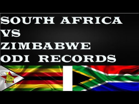 South Africa VS Zimbabwe ODI Records(2018)