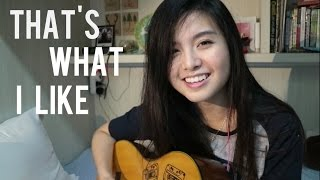 Video That's What I Like - Bruno Mars | Cover by Anzela download MP3, 3GP, MP4, WEBM, AVI, FLV Januari 2018
