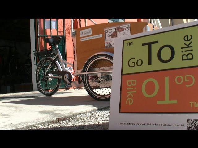 GoTo Bike il nuovo servizio Green Delivery