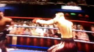 Frikin on my Ps2  KnockOut Kings 2002 part 1