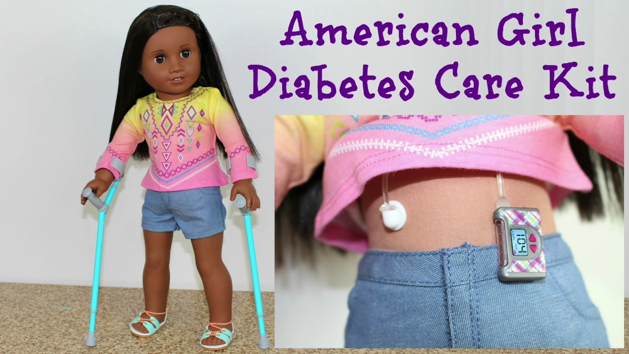 american girl doll diabetes playset review youtube