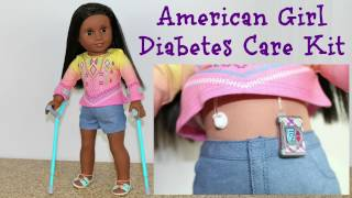 American Girl Doll Diabetes Care Kit ~ Opening, Review
