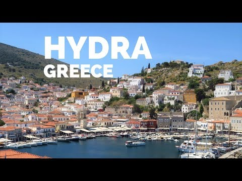 Beautiful HYDRA |  Island in Greece |  Cruise from Athens