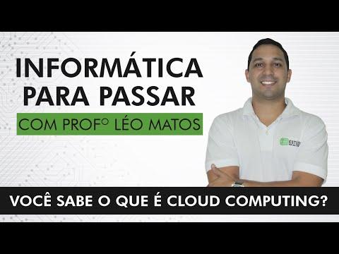 Você sabe o que é Cloud Computing?  Professor Léo Matos