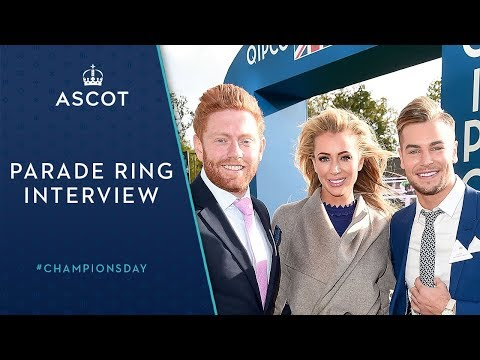 Chris Hughes, Olivia Attwood and Jonny Bairstow