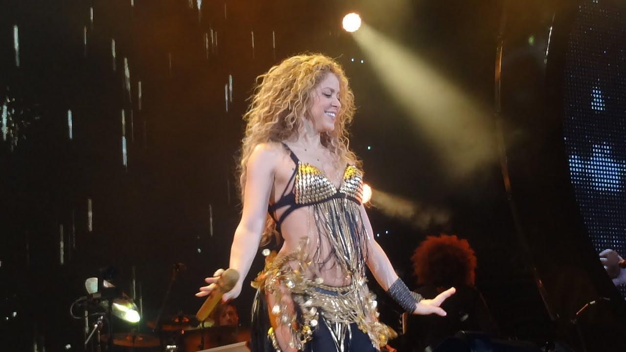 Shakira whenever wherever