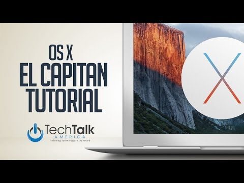 El Capitan OS X Tutorial