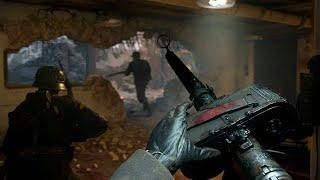Call Of Duty: WWII. ПРОХОЖДЕНИЕ. ЗАСАДА. ВЕТЕРАН. ЧАСТЬ 12.