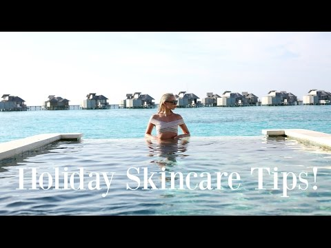 5 HOLIDAY SKINCARE TIPS   |   How to look after your skin on Holiday   |   Fashion Mumblr  AD