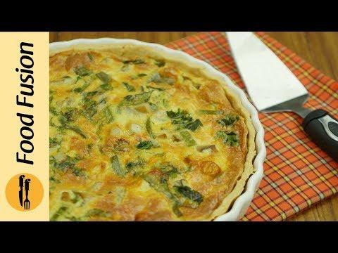 Chicken Quiche Recipe By Food Fusion