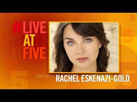 Broadway.com #LiveatFive with Rachel Eskenazi-Gold of THE PHANTOM OF THE OPERA