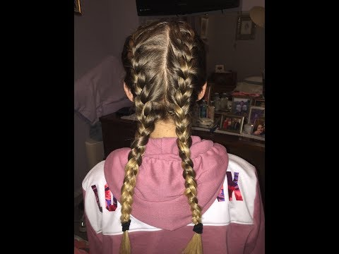 Easy Beginner French Braid Tutorial on Yourself