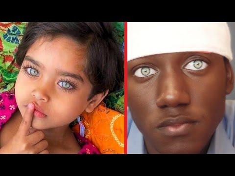 Самые красивые глаза у людей